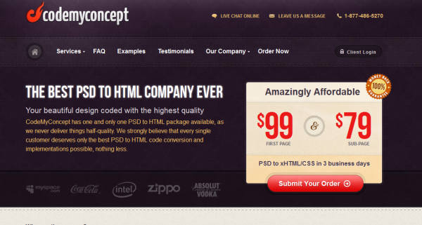 3. purple based web design