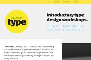 logo branding flat metro website interface crafting