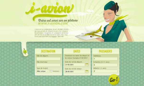 4. green based web design
