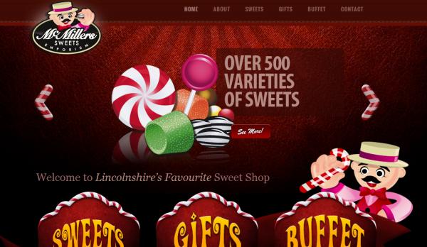 5. red based websites