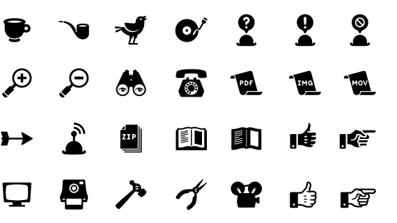 Capture Your User's Attention With These 15 Absolutely Gorgeous Retro Icon Sets