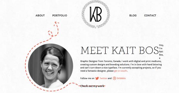 5. white based web design