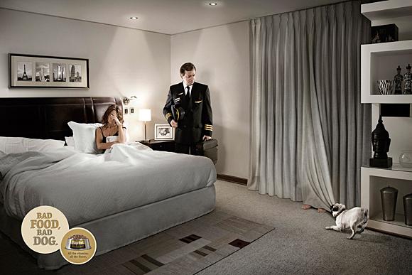 9. dog advertising