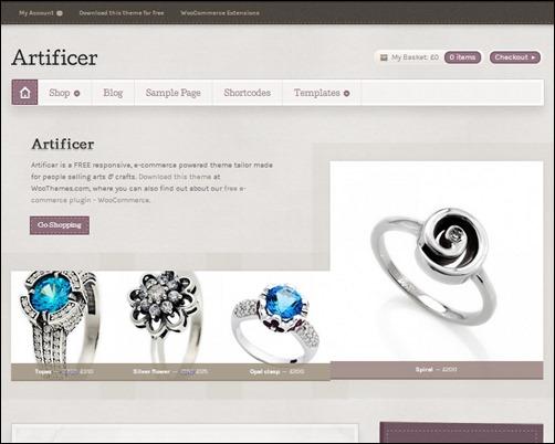 Artificer-free-ecommerce-wordpress-themes