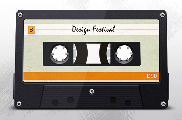 Create a Retro Mixtape in Photoshop