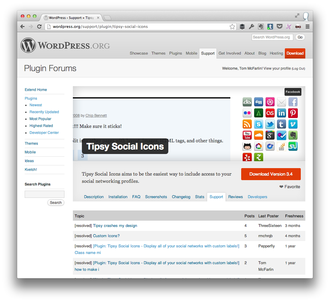 Strategies for Supporting WordPress Plugins