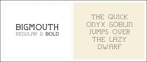 big-mouth-free-font-