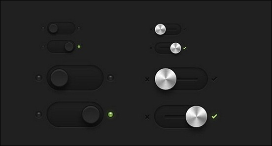 dark-essetial-switches-toggles-psd