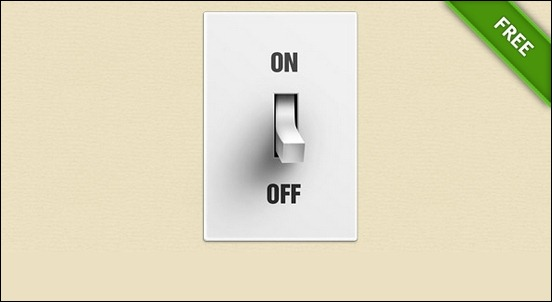 free-psd-switch-button