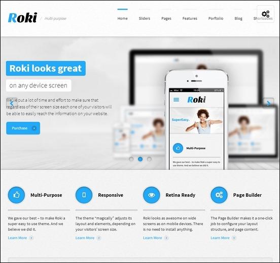 roki-multipurpose-responsive