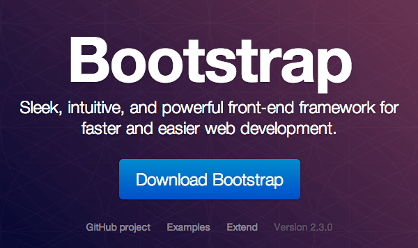 Twitter Bootstrap style guide