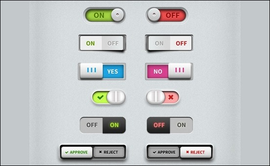 toggle-switches-ui-psd