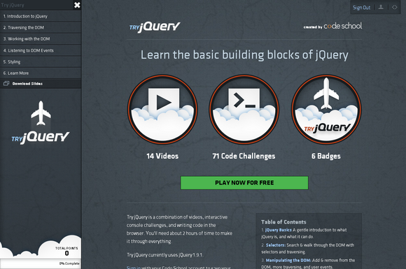 try-jquery