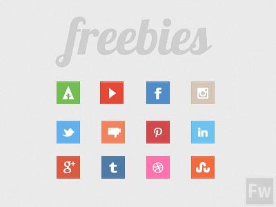 best freebie icons social media pack