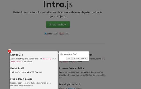 guide website tour intro javascript jquery plugin