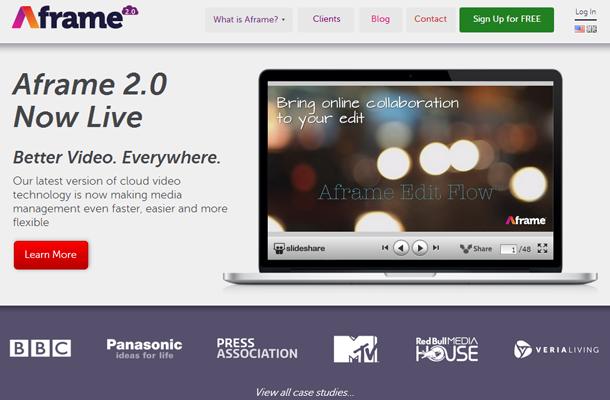 cloud cdn video storage streaming startup website