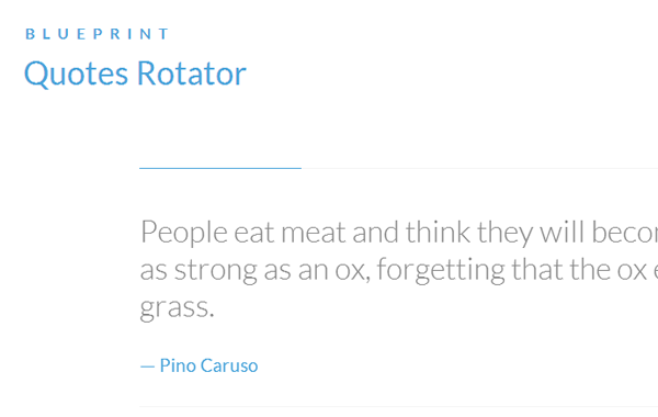codrops quotes rotator html css blueprint plugin