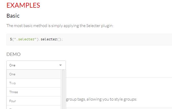 custom jquery select menu styles css javascript form input