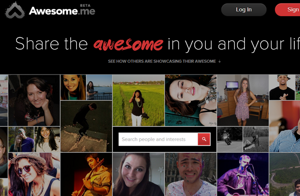 awesome social network website layout