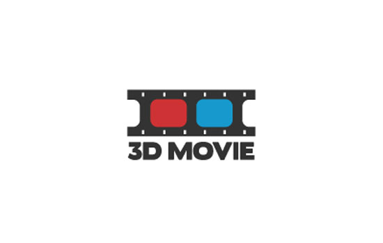 3D Movie Logo Design Inspiration