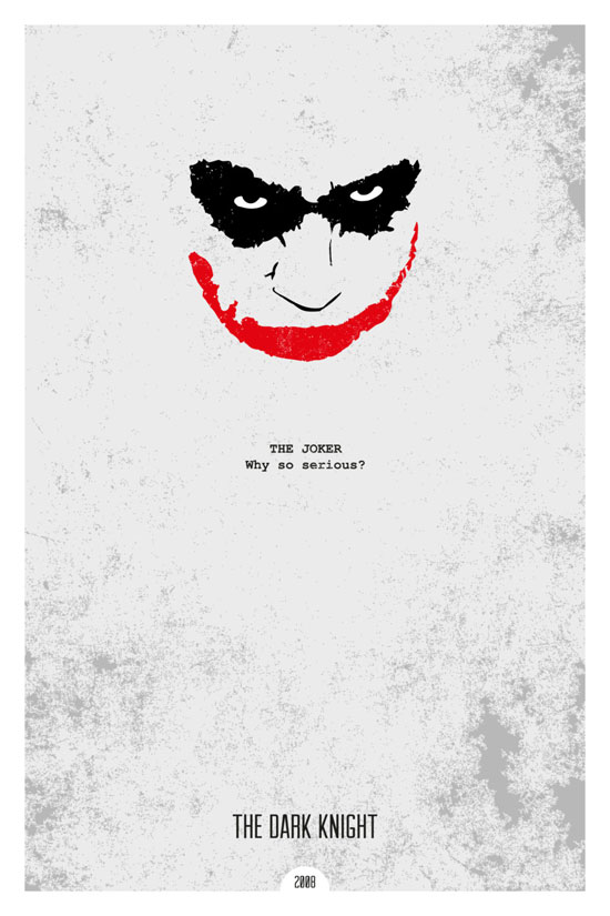 The Dark Knight Movie Poster Quote