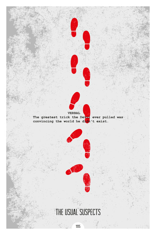The Usual Suspects Movie Poster Quote