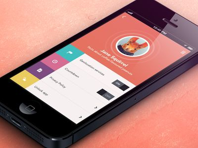 23 Flat Design iPhone Apps