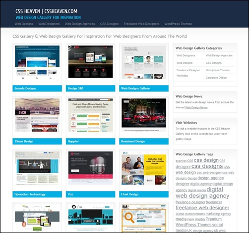 CSS-Heaven-web-design-gallery