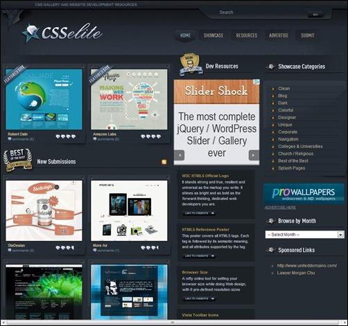 CSSelite-web-design-gallery
