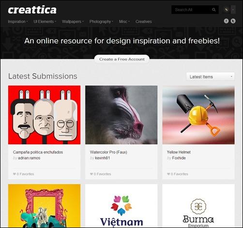 Creattica-web-design-gallery