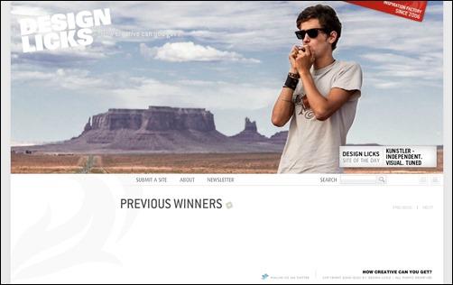 Design-Licks-web-design-gallery
