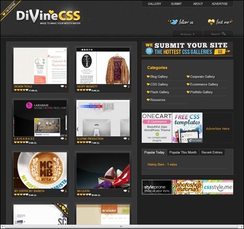 Divine-CSS-web-design-gallery