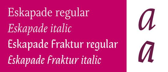 Eskapade Premium Font