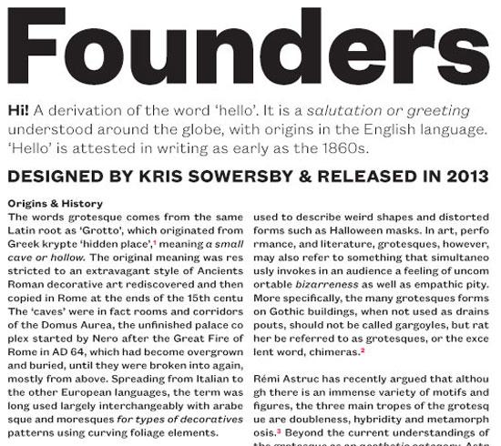 Founders Grotesk Premium Font