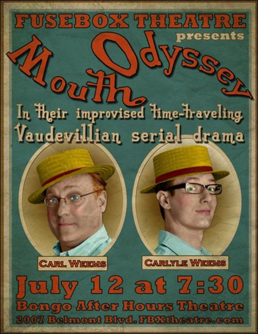 Make a Turn of the Century Vaudeville Poster