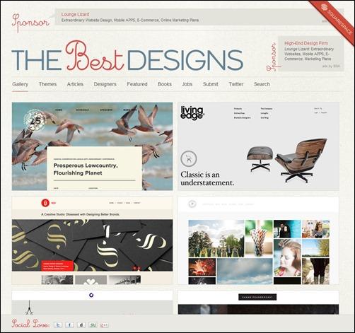 The-Best-Designs-web-design-gallery