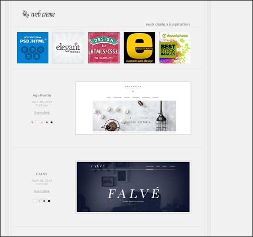 Web-Creme-web-design-gallery