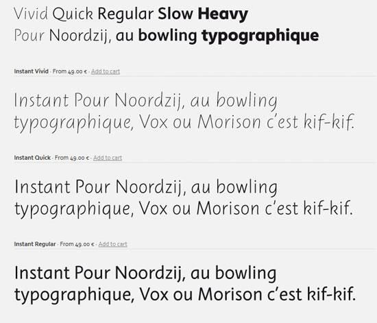 Instant Premium Font