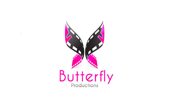Butterfly Productions Logo Design Inspiration