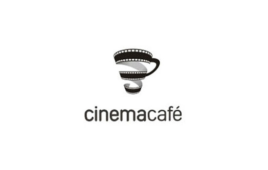 Cinema Cafe Logo Design Inspiration
