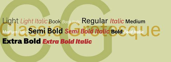 Classic Grotesque Premium Font