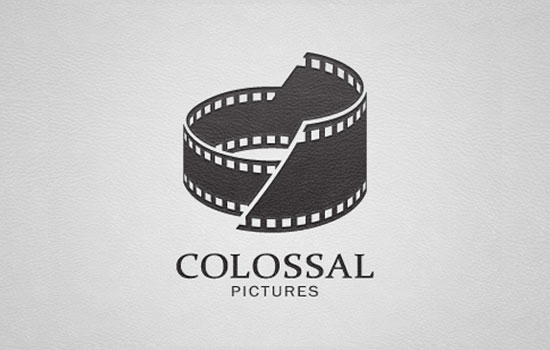 Colossal Pictures Logo Design Inspiration