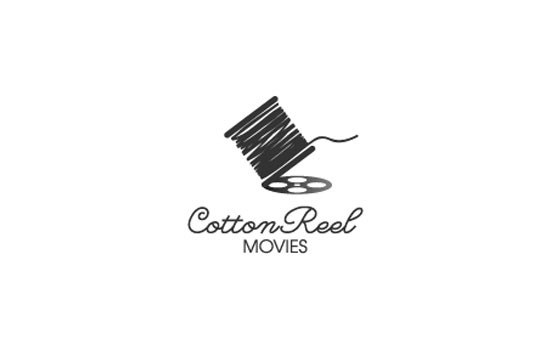 Cotton Reel Movies Logo Design Inspiration
