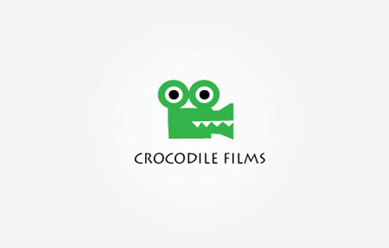Crocodile Films Logo Design Inspiration