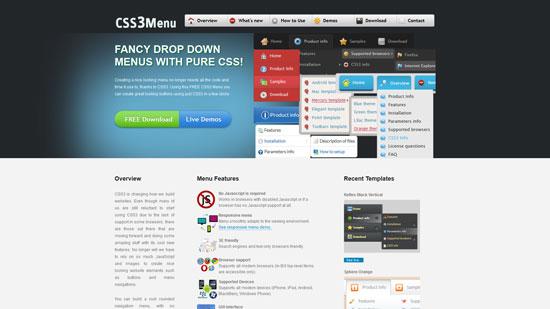 css3menu.com
