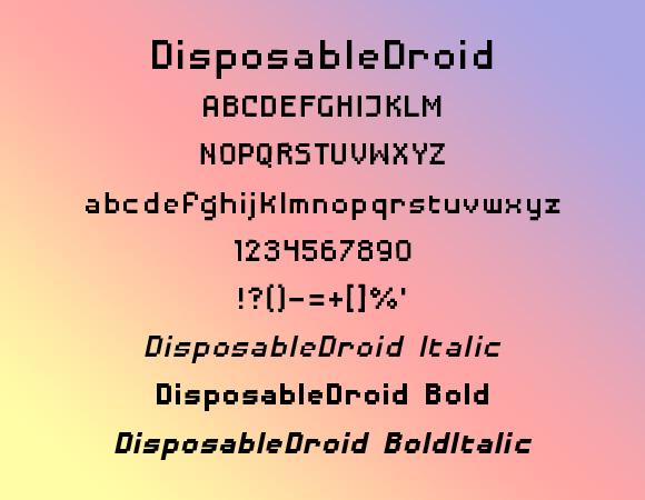 DisposableDroid BB