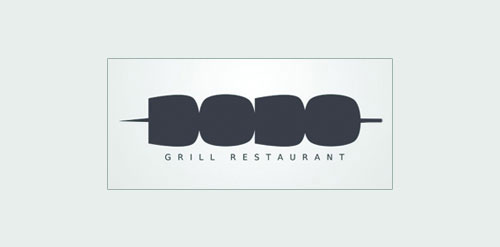 dodo-grill-restaurant-Logo Designs With Creative Concepts