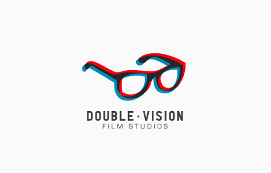 Double Vision Film Studios Logo Design Inspiration