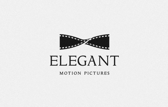 Elegant Motion Pictures Logo Design Inspiration