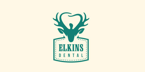elkins-dentals-Logo Designs With Creative Concepts